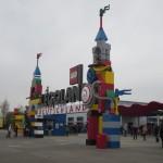 Der Eingang zum Legoland Deutschland
